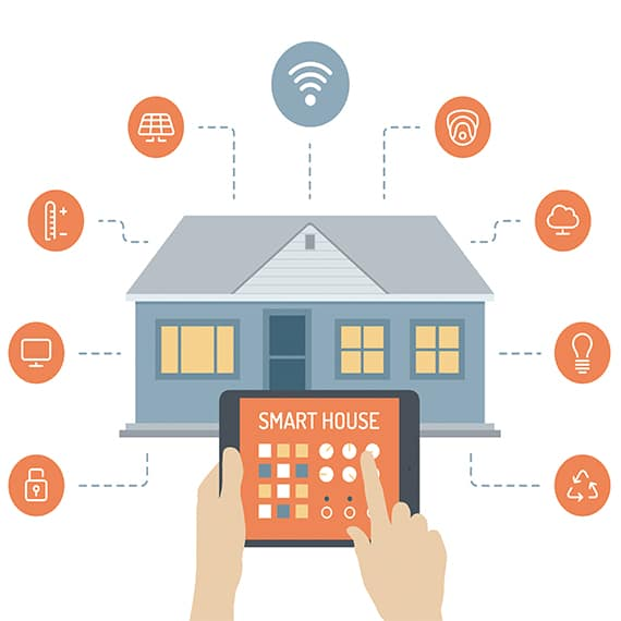 how to use smart home devices to cool off